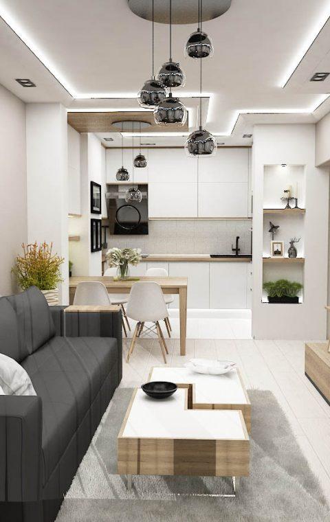 Луксозен апартамент Скандинавски стил Варна Орхид Гардън