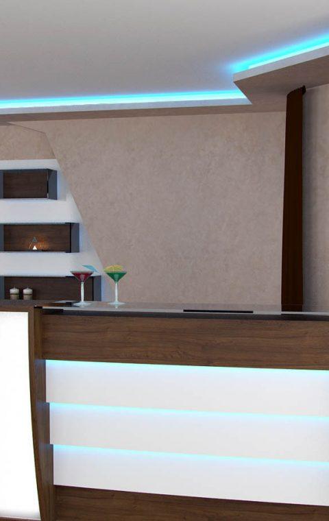 Проект апартамент с мини бар