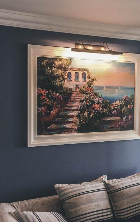 Апартамент в духа на Санторини комплекс Марина Палас Балчик